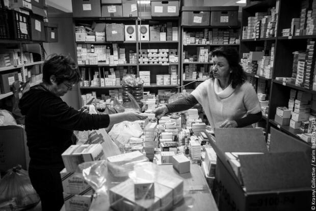 Soutien au Dispensaire Social Metropolitain Helliniko à Athènes