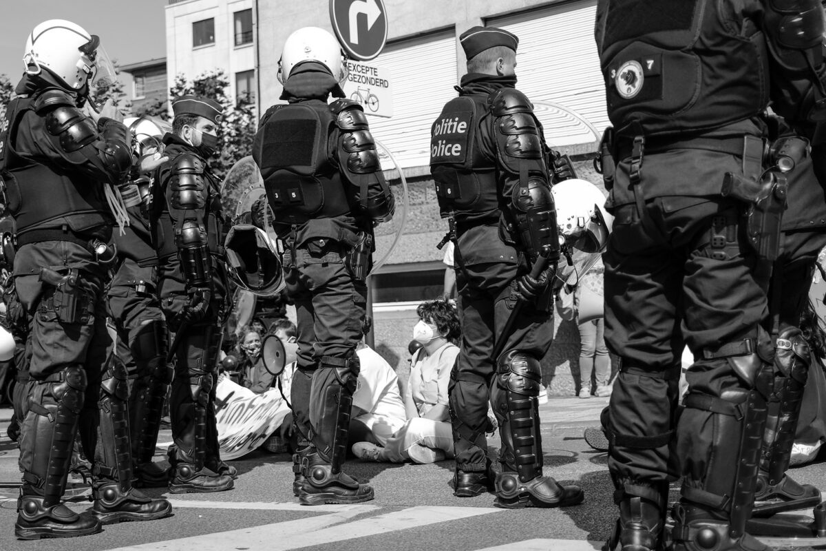 Témoignage de terrain : violences policières (1)