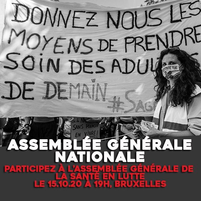 Nationale Algemene Vergadering van La santé en lutte !