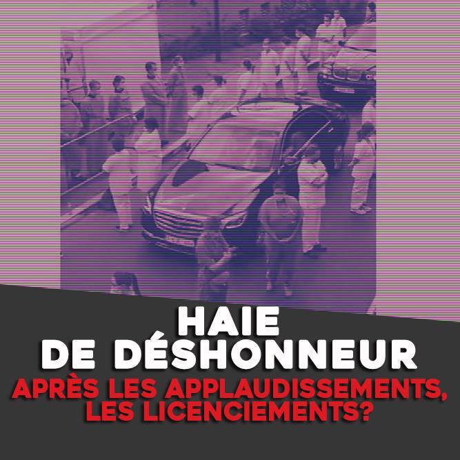 HAIE DE DÉSHONNEUR