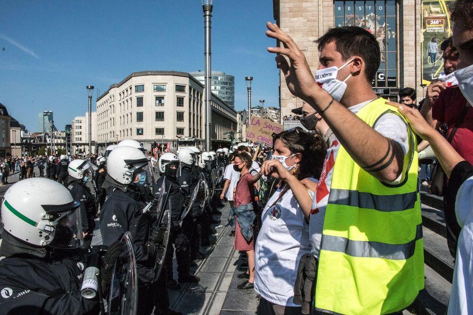 Témoignage de terrain : violences policières (2)