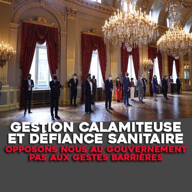 GESTION CALAMITEUSE ET DÉFIANCE SANITAIRE