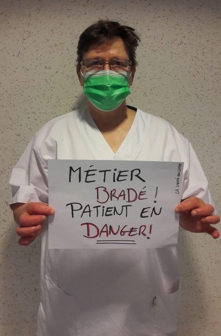 MÉTIER BRADÉ, PATIENTS EN DANGER