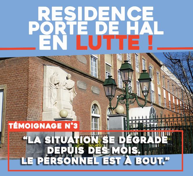 Résidence Porte de Hal en lutte : « La situation se dégrade depuis des mois »