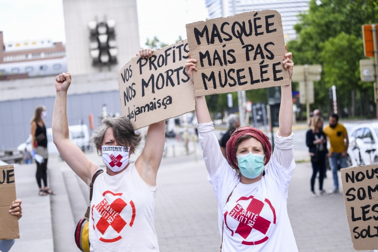 Manifestation du 14 juin : Revue de presse