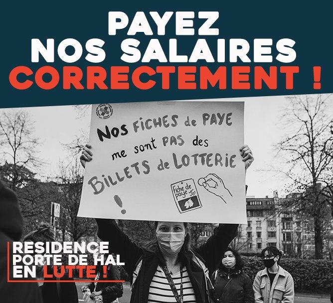 Payez nos salaires correctement !
