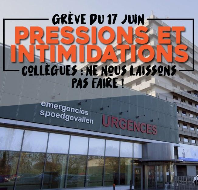 Grève du 17 juin : pressions et intimidations